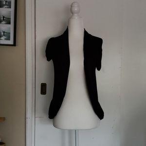 Macy's Short Sleeve Cardigan (S) Like new!